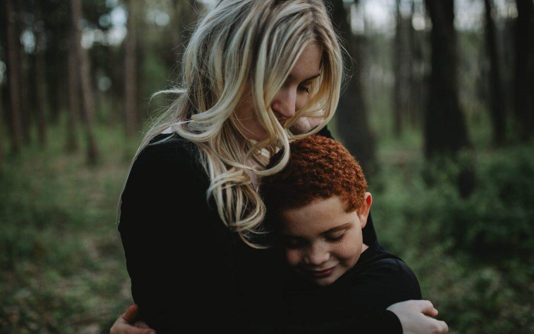 Mother Son Photo Session | Anderson Farm County Park, Oregon, WI
